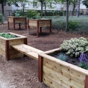 Les jardins partagés Castelnau - 2016