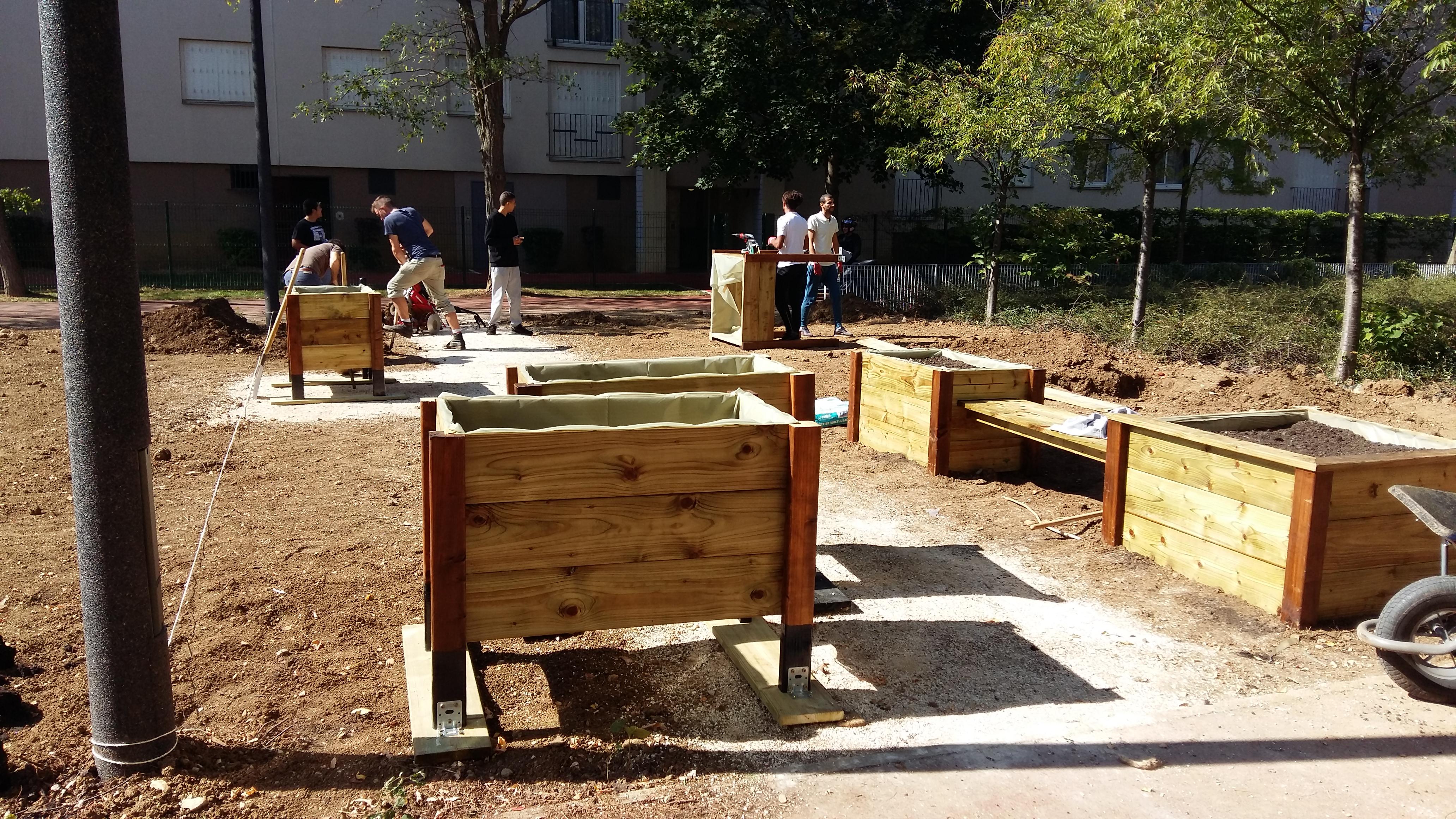 Les jardins partagés de castelnau zutique productions