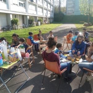 Petit déjeuner pendant les vacances de printemps 2018